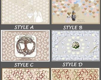 Steampunk wedding - paper anniversary gift - Theme wedding -  wedding guest book - - Teddy Bear Wedding, wedding book option, guest book
