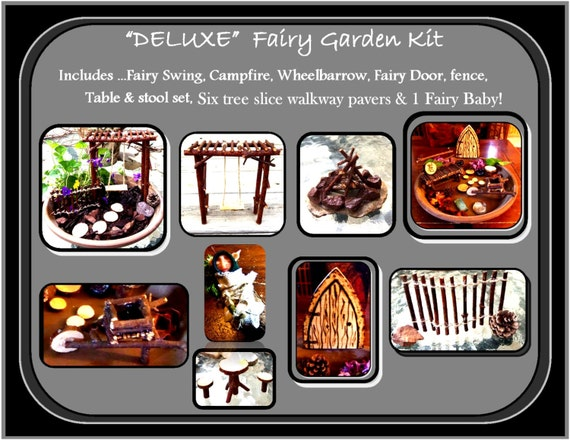 fairy garden kit,fairy garden,fairies, wife gift -  daughter gift - garden kit,  childrens gifts,most popular