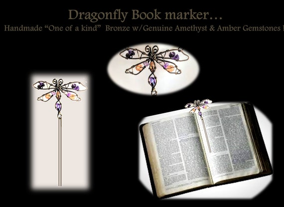 Book marker, dragonfly, gifts, mother, daughter, necklace, dragonflies, loved one use dragonflies to visit, let us know they are at peace