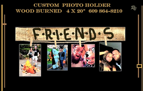 Best Friends, friend gift, friend, photo holder, cool gifts, fun gifts, picture frame, alternative