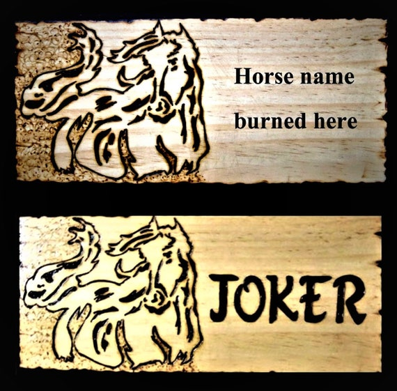sign, wood, horse, gift, custom, plaque, signs