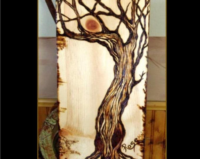 Cabin Decor - Lodge Decor - Rustic decor,Trees,Tree Art,Nature Art,Tree lovers,Nature lovers gift