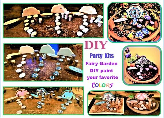 DIY, DIY fairy garden, Child , Party ideas,child party craft ideas, kids craft party,child craft party, paint your own fairy garden,kid fun