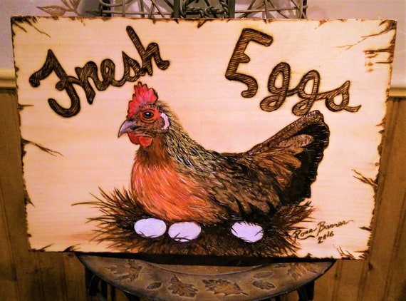 custom, signs, chicken art,Chickens,Fresh Eggs, wood anniversary gift idead,wife gift,mother gift,kitchen decor