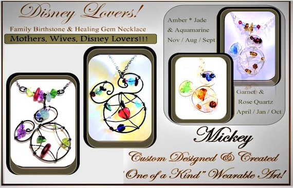 Mother jewelry - Valentines gift ideas -  Disney Lover gift - Mother gift - daughter gift - Disney jewelry,mickey jewelry,june birthday gift