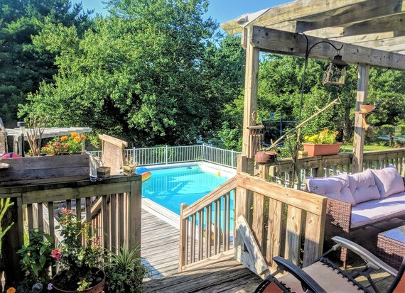 Beloved, Home for Sale,for sale by owner, Winslow, NJ Beautiful, Private, Culdasack, Huge fenced in yard,Swimming pool jacuzzi, 1,868 sq ft,