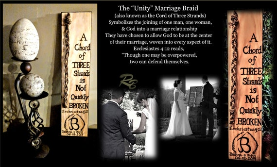 Husband, wife gift, LOVE is Gods gift,  Wedding ceremoy, Gods Knot, Love, Unity Ceremony, chord of Three stands is Not quickly broken