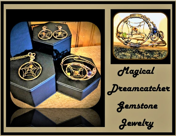 dreamcatcher, gift, dream, catcher, jewelry, sets, wife gift, mother gift, tree of life, healing,  nature, jewelry, zen