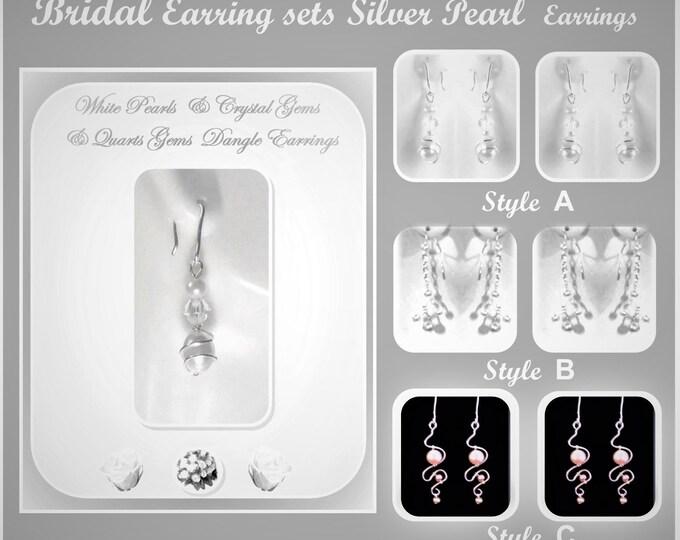Pearl Earrings - Pearl jewelry