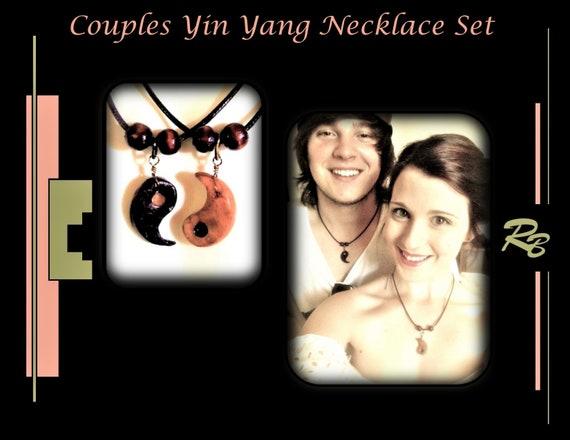 girlfriend gift, boyfriend gift, couples, Jewelry, couples bracelets,yin yang, his hers jewelry,men gifts ,necklace SET,Best Friends