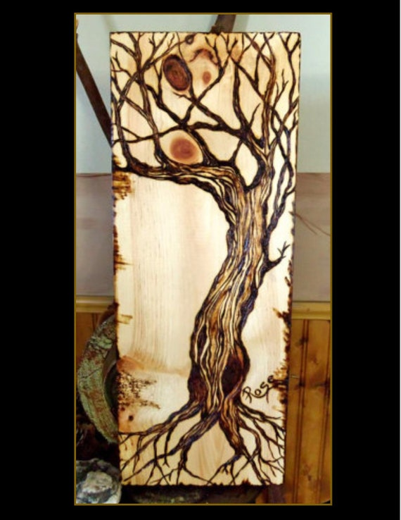 wood anniversary, five year, wife gift, husband gift, tree of life, art, tree decor, trees, couples gift,  rustic, cabin, lodge,