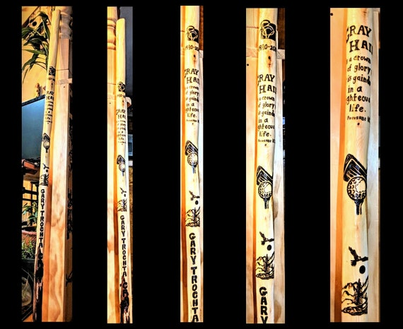 hiking stick, wood , walking stick,walking cane, cane,Retirement gift,Anniversary gift,husband gift,father gift,hiker, hiking,hikers gift