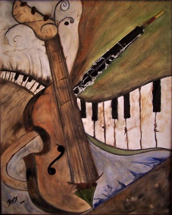 musician art,music lovers gift,Abstract,Origianal music art, Oil painting,Artist,Oil Paintings,Custom artwork,musical art,musician gifts