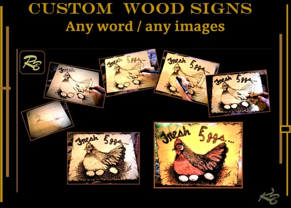 Chickens, custom. wood. sign, personalized, gift, father, gift, brother, son, husband,  boyfriend, boss, retirement, gift, man,  wood, men