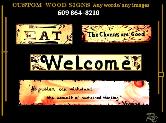 custom sign, wood, sign, personalized, gift, ANY Words