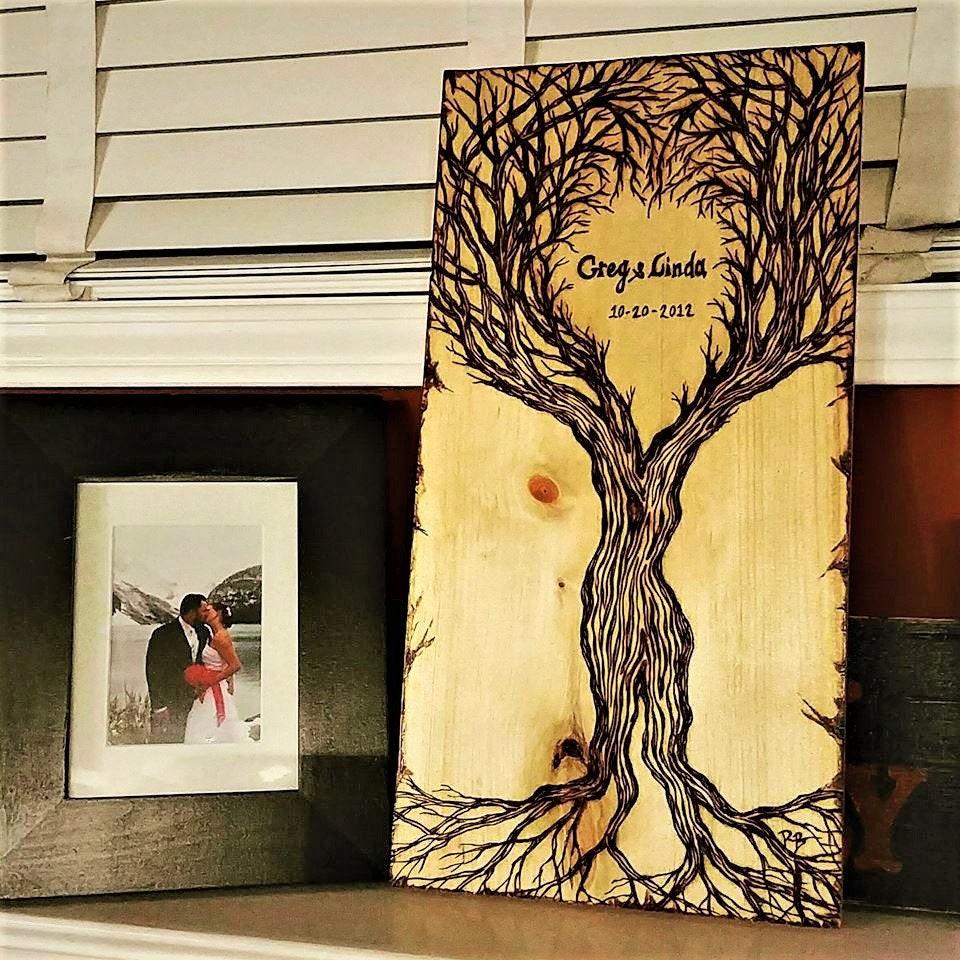 Couples Gift Newlywed Gift Wife Gift Wood Gift Ideas Wood