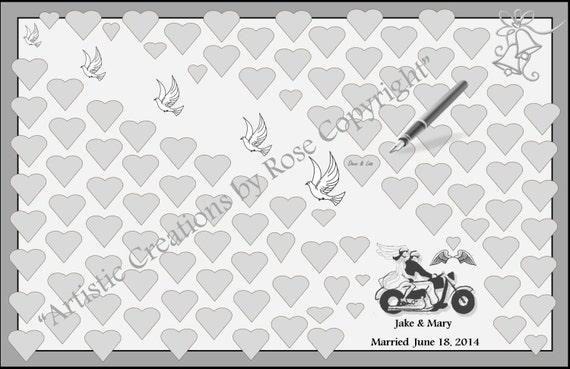 Biker Wedding, wedding book option, wedding guest book, wedding,guest book,guest book option,wedding book ideas,most popular,wedding ideas