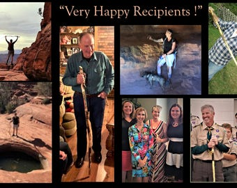 fathers day gift - hiking stick, walking stick, hiking,hikers gift,Retirement gift,wood anniversary gifts for him,walking cane, elderly gift