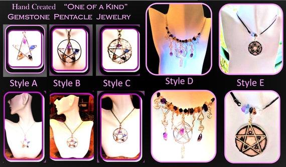 Pentagram,Pentacle,Pentagram Jewelry,Pentacle Jewelry,wicca jewelry,pentagram pendant,a;ter pentacle,healing jewelry,pentagram items