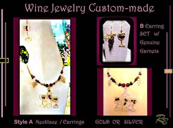 wine jewelry,wine glass, gift, earrings,wine,wine grapes jewelry,bartendar,wine lovers