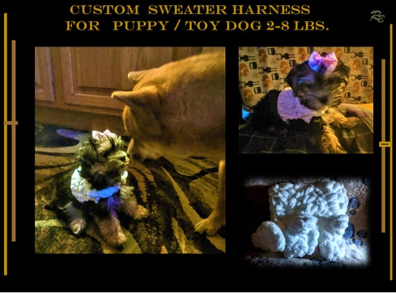 Harness, 2 lb, small dog, xx small, puppy, toy dog, 3lb,4lb, puppy harness