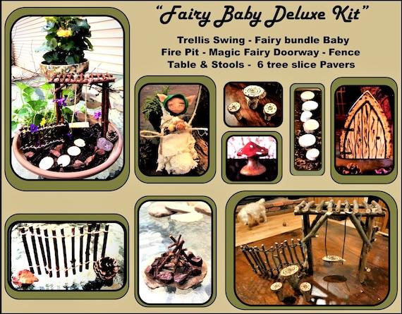 fairy garden kits - Fairy items - Fairy gardens -  fairy gardens - fairy furniture - fairy house - fairies - garden accessories