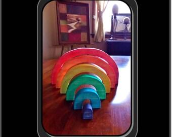 Hand created,wood Rainbow,LGBT gift ideas, lgbt anniversary gift, lgbt wood anniversary,lgbtq,Female couples gift, rainbow jewelry,lgbt