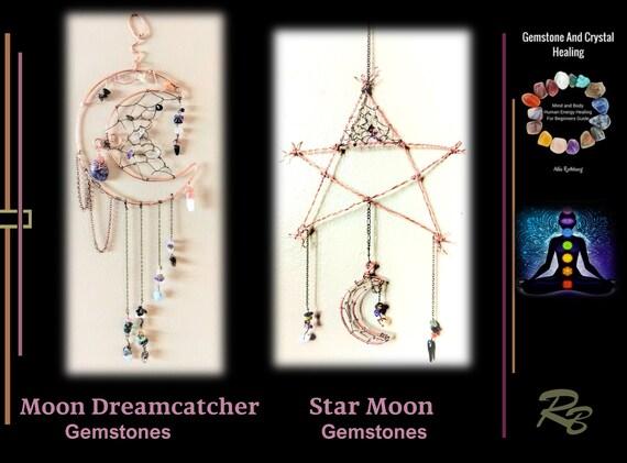 Moon suncatcher, Star, garden decorations, mother gift, grandmother gift, flower pots - wife gift -  sunflower - flower pot