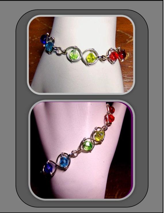 Rainbow jewelry, LGBT jewelry, LGBT gift ideas, pride jewelry