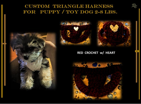 TOY Dog, Harness, 2 lb, small dog, morkie, xx small, puppy, toy dog, 3lb,4lb, puppy harness