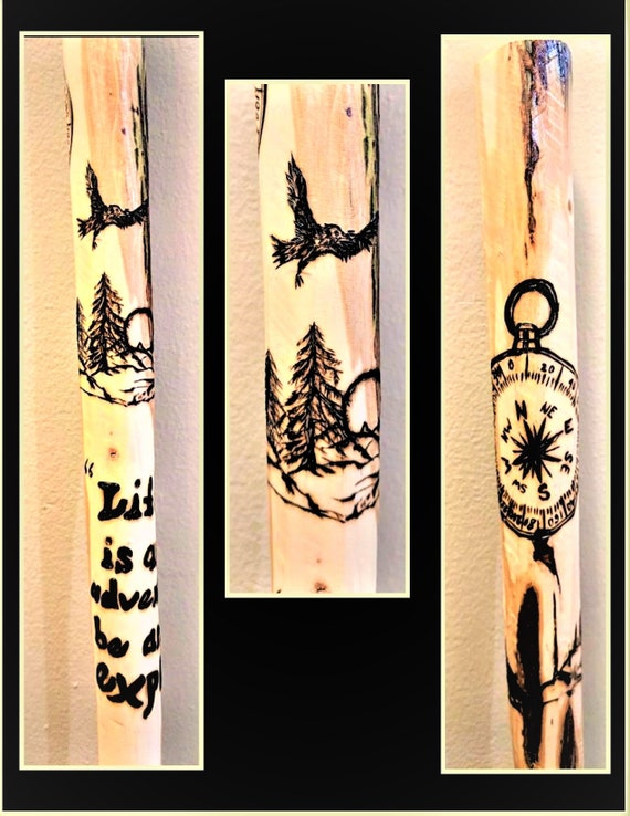 troopmaster gift, troop leader, scout eagle, hiking stick, Retirement gift, scout leader