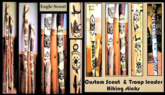 eagle scout , merit badge, ceremony, scout gift, eagle scout achievement, hiking stick, eagle, scout gift,  troop leader gift, scout eagle