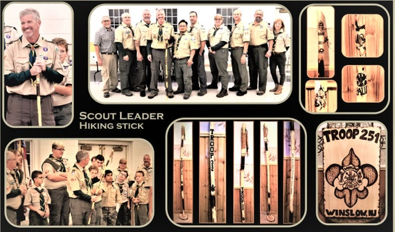 eagle scout  merit badge ceremony,  scout gift, eagle scout achievement, hiking stick, eagle, scout gift,  troop leader gift, scout eagle