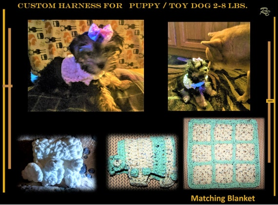 Harness, xx small, puppy, toy dog, 2 lb, 3lb,4lb, puppy harness
