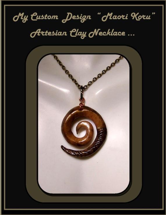 Maori Koru pendant, Peace, Tranquility, Maori Koru necklace, Mens Neclace, Unisex jewelry, Healing jewelry,New Parent gift, Newlyweds gift,
