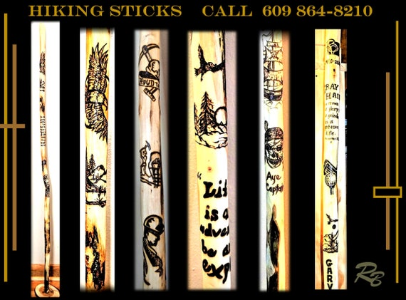 hiking stick, wood , walking stick,walking cane, cane,Retirement gift