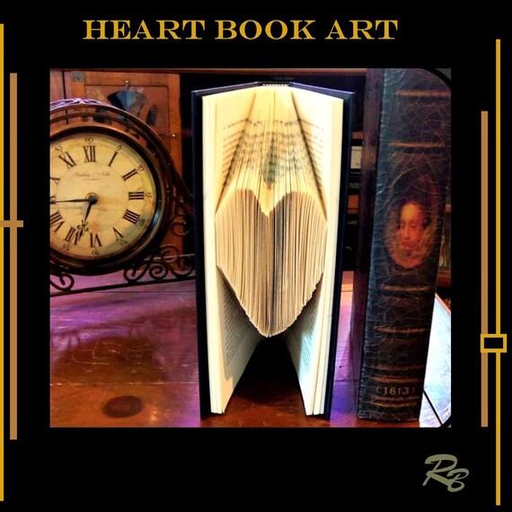 book art,heart art, home decor, paper anniversary, wedding gift, book lovers, recyeled book art, most popular,gift ideas,