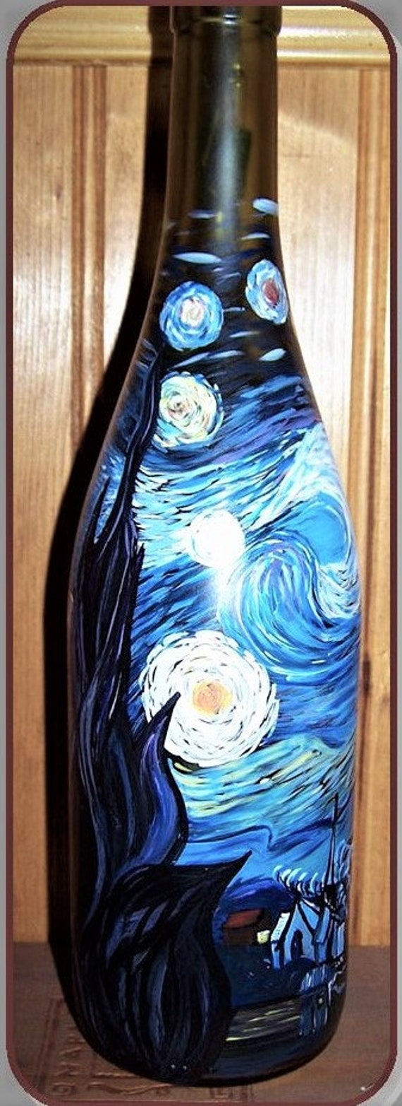 mother gift, Art lovers gift, artist gift, Starry Night, Van gogh, Artist gift, wife gift,