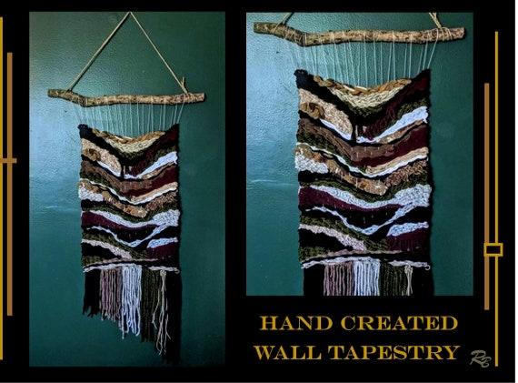 hand woven, Tapesty, wall art,wife gift, daughter gift,Newlywed gift, Anniversary gift,Wedding gifts,custom art