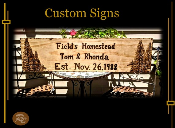 wood anniversary gift, husband gift, wife gift, sign, custom, wood,  personalized, gift, ANY Words, Artistic Creations by Rose