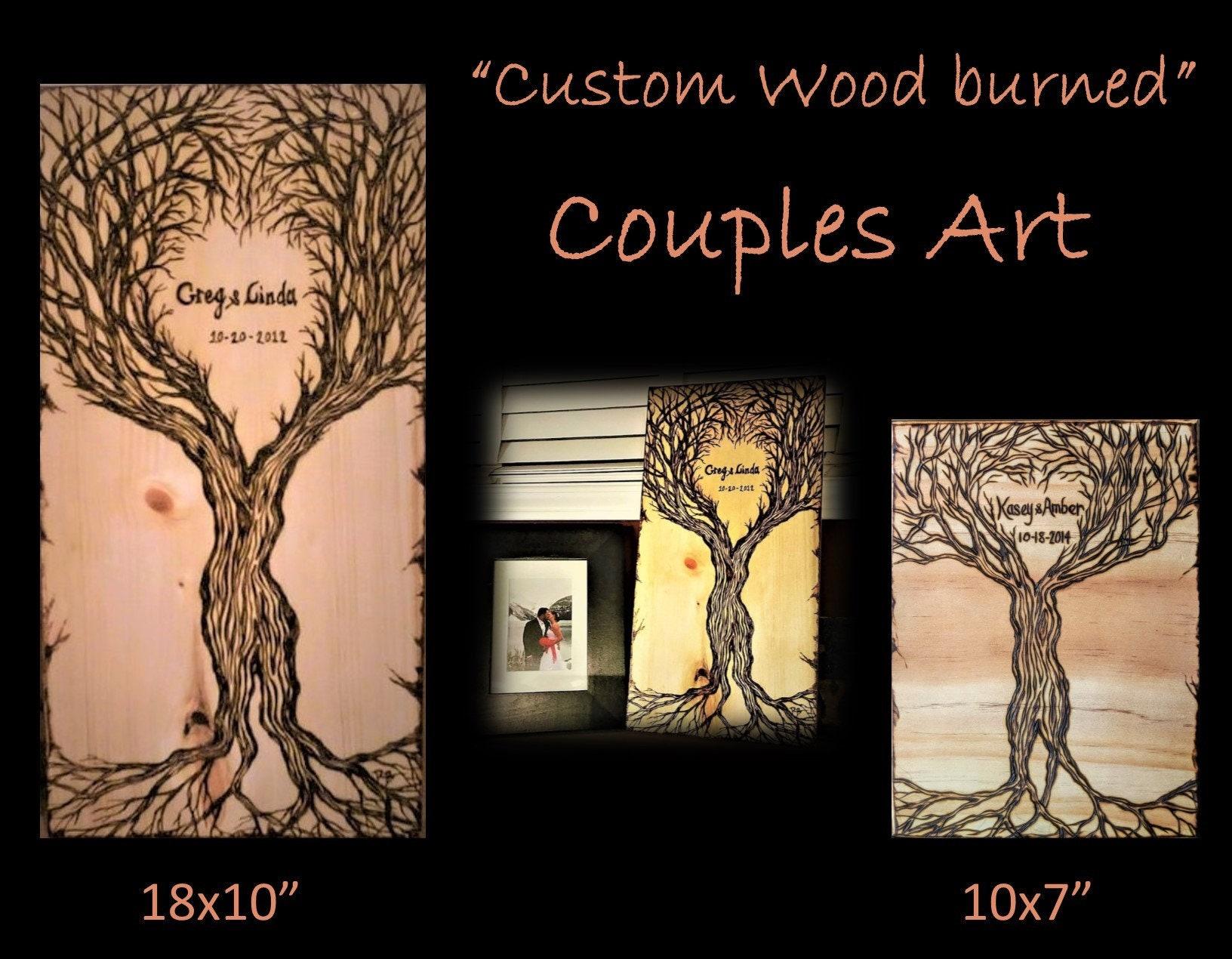 Wood Anniversary Gift Wife Gift Girlfriend Gift 5 Year Anniversary Gift Couples Gift Ideas Mens Gifts Husband Gift Wedding Gift