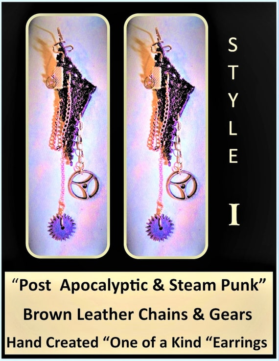 Post Apocalyptic,earrings,Clockworks,Steampunk necklace,Clock necklace,Larp,Steampunk Fashion,steampunk,Octopus Necklace,Steam punk jewelry,
