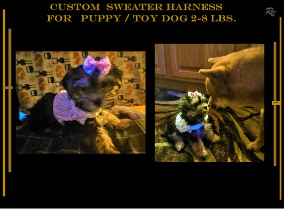 2 lb, small dog,  Harness, xx small, puppy, toy dog, 3lb,4lb, puppy harness
