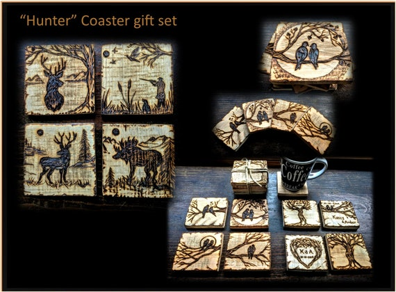 Father, boyfriend ,gift,husband gift,hunter gift, sports, father, gift , wood coasters,mens gift ideas,sports coaster,sports plaques