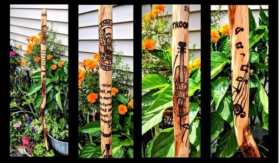 hiking stick, walking stick,,hiker, hiking,hikers gift,walking stick
