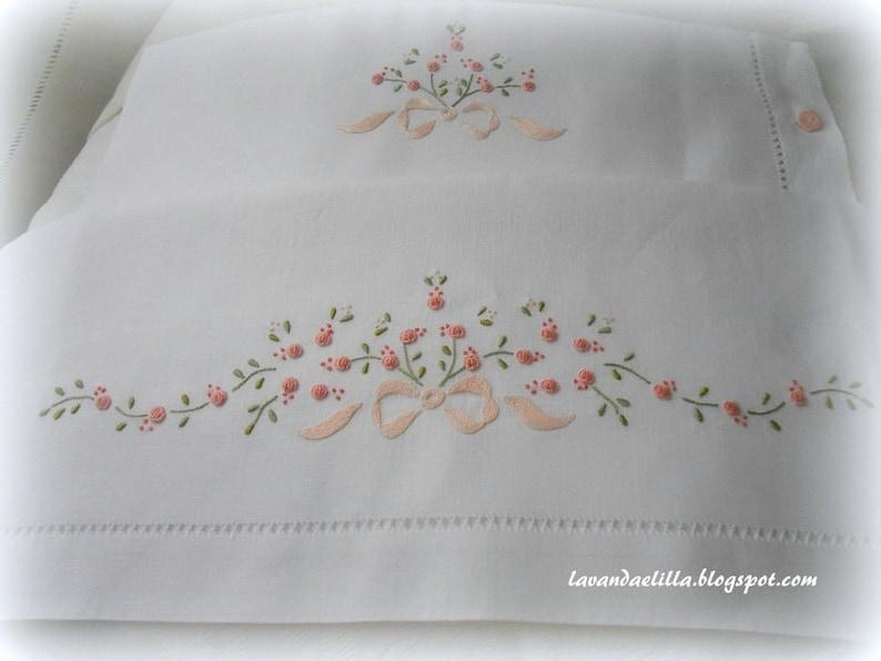 Disegni e schemi per lenzuolino sacca e bavaglino da cucire e etsy