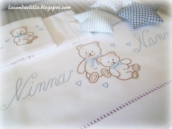 Disegno Per Lenzuolino O Copertina Da Bimbi Pattern For Nursery Bedding
