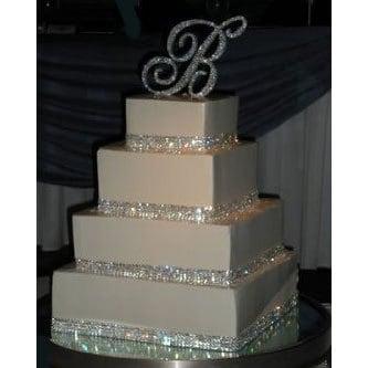 BLING RIBBON SPARKLY sugarcraft cake decorating card craft silver colours BOGOF