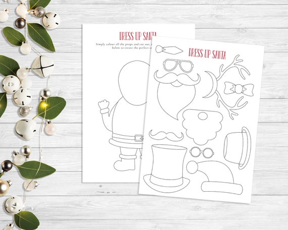 Advent activity sheets christmas printables kids activity | Etsy