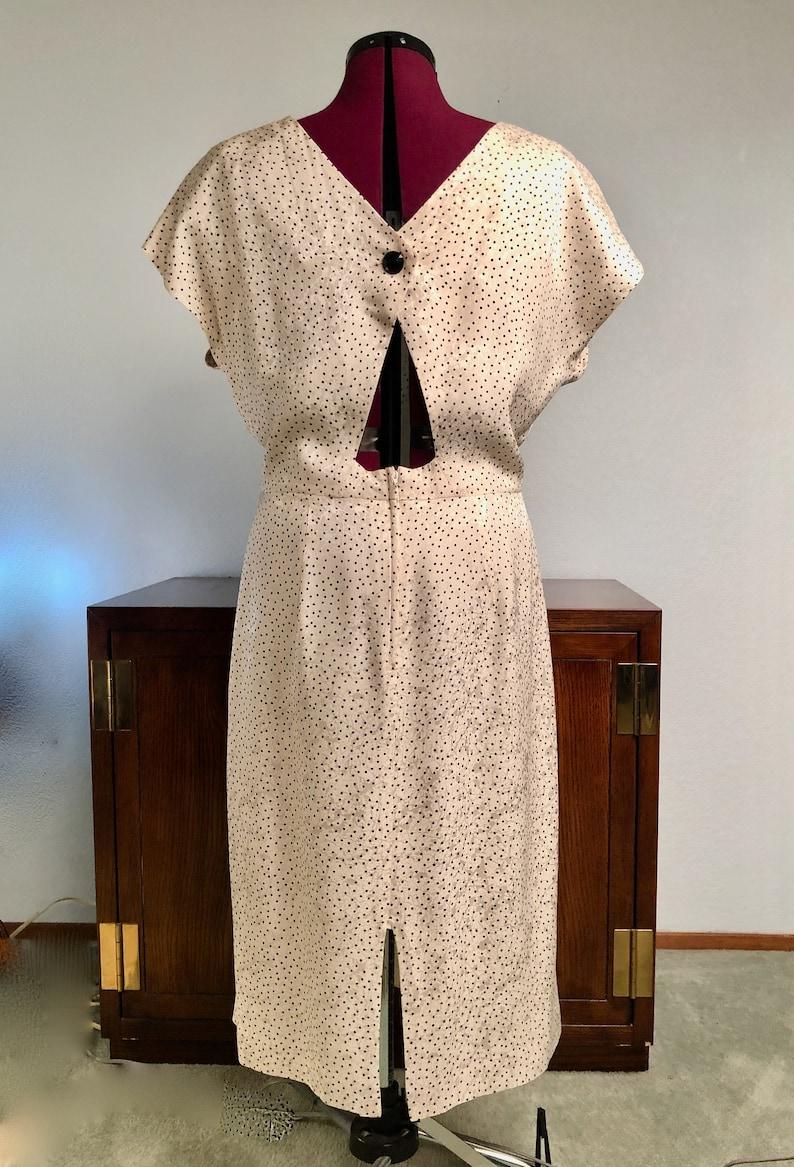 Macys semi formal 2 piece dress size 16 Vintage Silk Studio